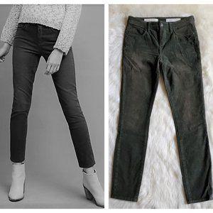 Anthropologie Pilcro Script Corduroy Jeans Size 26